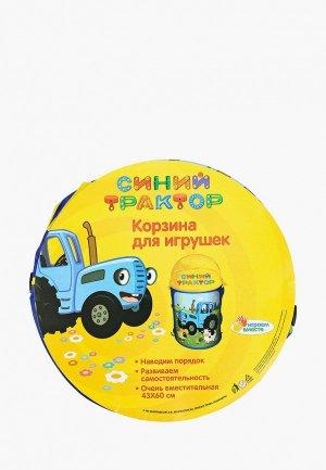 Корзина Играем Вместе для игрушек 43 х 60 см. Цвет: разноцветный