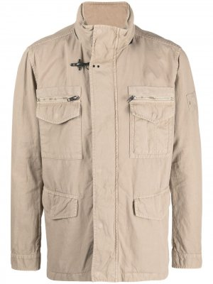 Куртка с карманами Fay. Цвет: нейтральные цвета