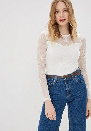 b0919a061ee00f5 Белые женские боди-блузки купить в интернет-магазине LikeWear.ru