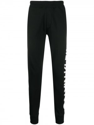 Тайтсы с логотипом Calvin Klein Jeans. Цвет: черный
