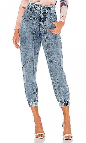 Прямые джинсы spliced Bardot. Цвет: none