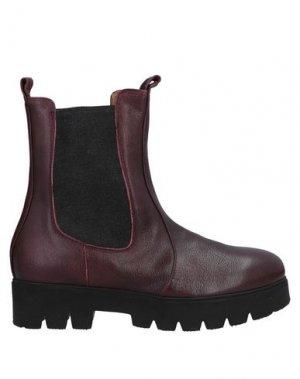 Полусапоги и высокие ботинки ALBERTO FERMANI. Цвет: красно-коричневый