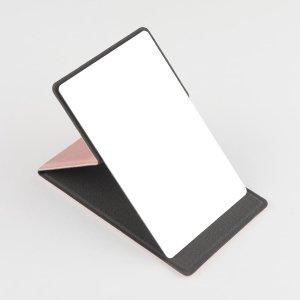 Портативное зеркало для макияжа SHEIN. Цвет: розовые