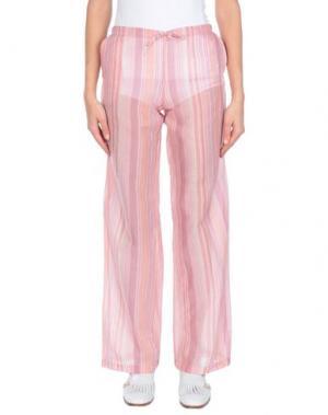 Повседневные брюки EMAMŌ. Цвет: розовый