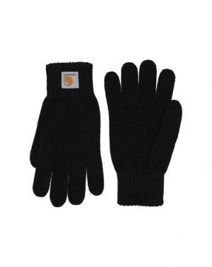 Перчатки CARHARTT. Цвет: черный