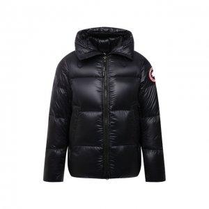 Пуховая куртка Crofton Canada Goose. Цвет: чёрный