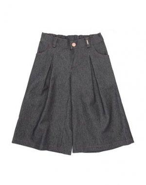 Джинсовые брюки LOREDANA. Цвет: стальной серый