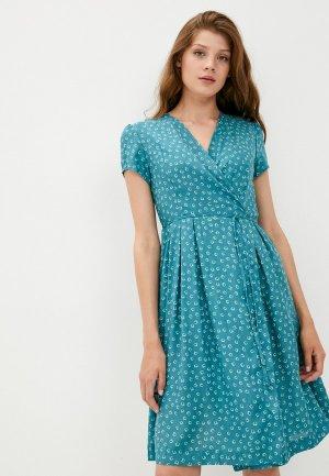 Платье Fest. Цвет: бирюзовый
