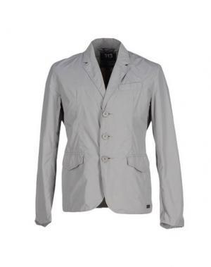 Пиджак 313 TRE UNO. Цвет: светло-серый