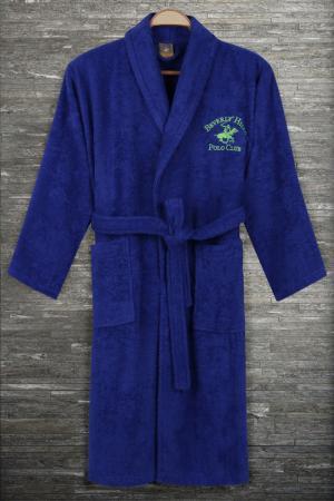 Халат Beverly Hills Polo Club. Цвет: dark blue