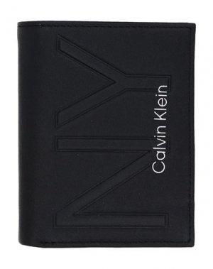 Бумажник CALVIN KLEIN. Цвет: черный