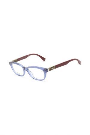 Очки Fendi. Цвет: синий