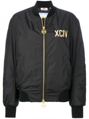 XCIV bomber jacket Gcds. Цвет: чёрный