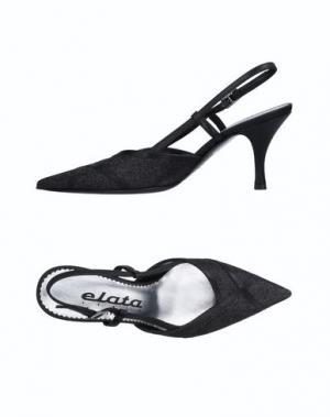 Туфли ELATA. Цвет: черный