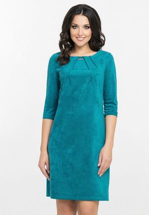 Платье Eva. Цвет: бирюзовый