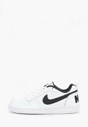 Кеды Nike BOYS COURT BOROUGH LOW (GS) SHOE. Цвет: белый
