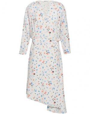 Платье миди JOIE. Цвет: белый