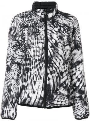Куртка-бомбер с принтом Just Cavalli. Цвет: чёрный