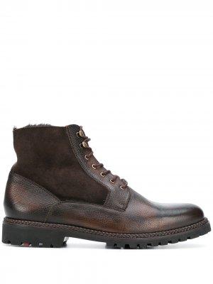 Ботинки Gilford на шнуровке Lloyd. Цвет: коричневый