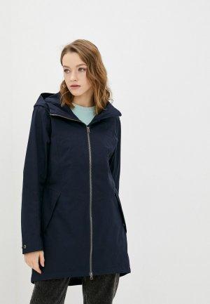 Куртка Didriksons FOLKA. Цвет: синий