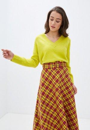 Пуловер Top Secret. Цвет: желтый