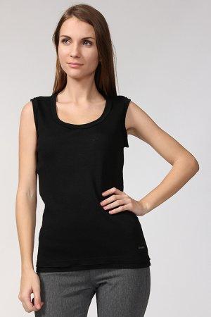 Майка Costume National. Цвет: черный