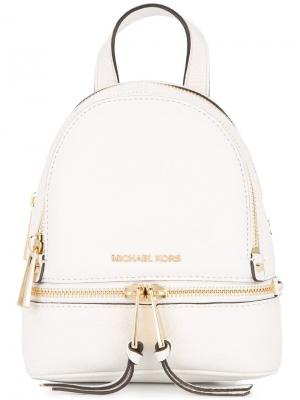 Мини-рюкзак Rhea Michael Kors. Цвет: белый