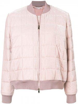 Куртка-бомбер Stella McCartney. Цвет: розовый