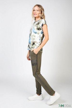 Спортивные брюки Monari. Цвет: зелёный
