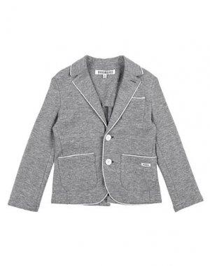 Пиджак BIKKEMBERGS. Цвет: серый