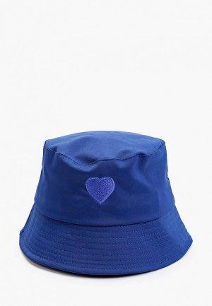 Панама Hatparad BLUE HEART. Цвет: синий