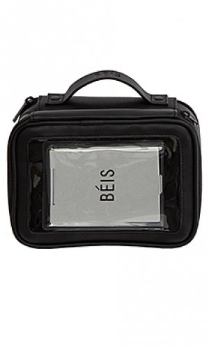 Дорожная сумка BEIS. Цвет: черный