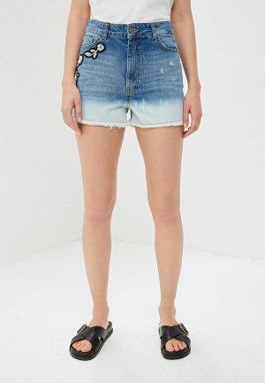 Шорты джинсовые Twinset Milano. Цвет: синий