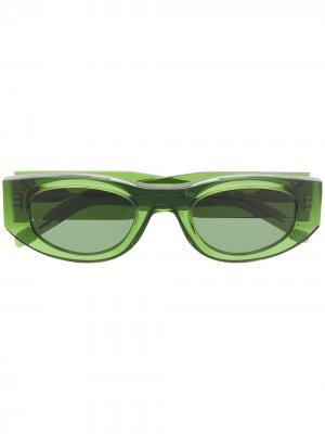 Солнцезащитные очки Mater Mindy Thierry Lasry. Цвет: зеленый
