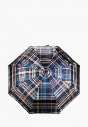 Зонт складной Eleganzza. Цвет: синий