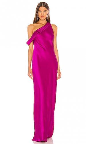 Вечернее платье thea Jay Godfrey. Цвет: розовый