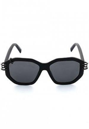 Солнцезащитные очки GIVENCHY. Цвет: черный