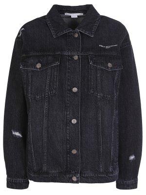 Куртка джинсовая Stella McCartney. Цвет: черный