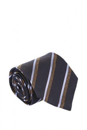 Галстук Corneliani. Цвет: синий, коричневый