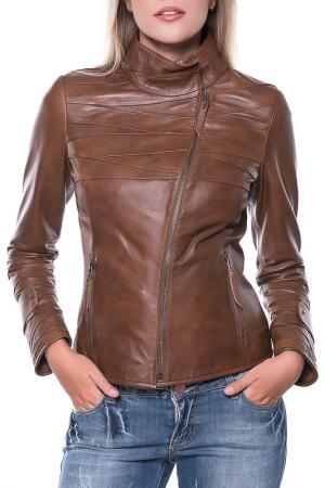Куртка GIORGIO DI MARE. Цвет: коричневый