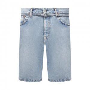 Джинсовые шорты Acne Studios. Цвет: синий
