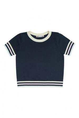 Черный хлопковый пуловер Bonpoint. Цвет: черный