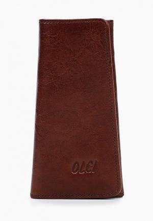 Ключница Olci. Цвет: коричневый