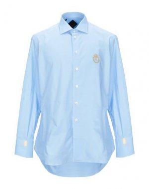 Pубашка BILLIONAIRE. Цвет: небесно-голубой