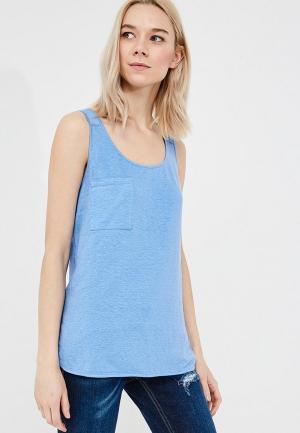 Майка Max&Co. Цвет: голубой