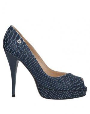 Туфли DIBRERA BY PAOLO ZANOLI. Цвет: темно-синий