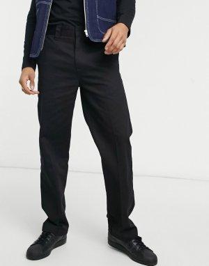 Классические рабочие брюки черного цвета -Черный цвет Santa Cruz