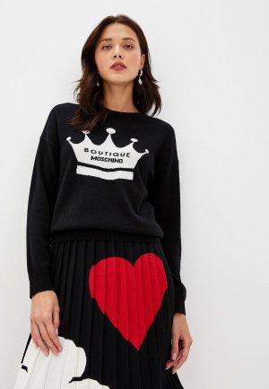 Джемпер Boutique Moschino. Цвет: черный