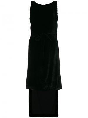 Платье с драпировкой Gareth Pugh. Цвет: черный