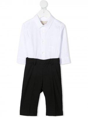Комплект из рубашки и брюк ELIE SAAB JUNIOR. Цвет: белый